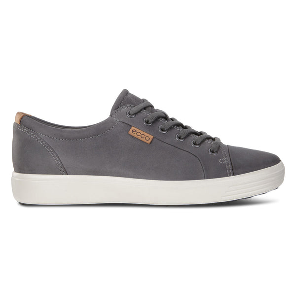 Ecco Men's Soft 7 Sneaker in Titanium