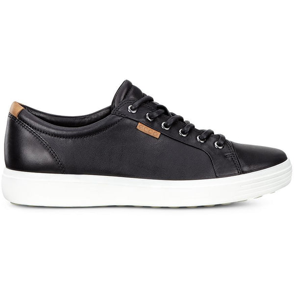 Ecco Men's Soft 7 Sneaker in Black