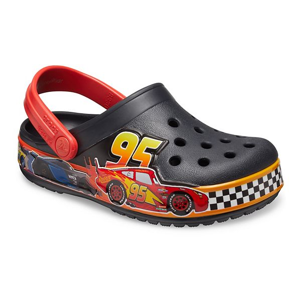 Crocs Kid's FL Disney and Pixar Cars BdCgK In Black