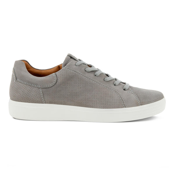 Ecco Men's Soft 7 Lace Up Sneaker in Wild Dove