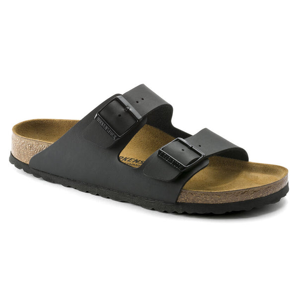 Birkenstock Arizona Birko-Flor Classic Footbed Sandal in Black