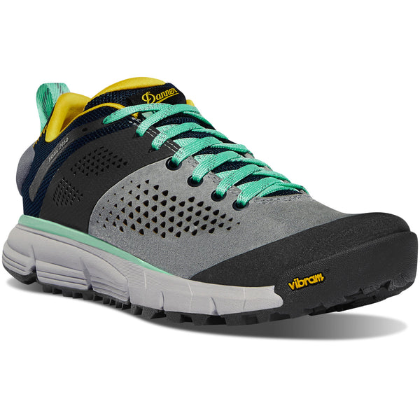"DANNER WOMEN'S TRAIL 2650 3"" IN GRAY/BLUE/SPECTRA YELLOW"