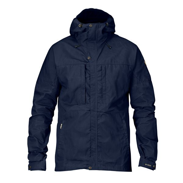 FJALLRAVEN MEN'S SKOGSO JACKET IN DARK NAVY