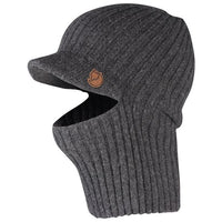 FJALLRAVEN SINGI BALACLAVA CAP IN DARK GREY