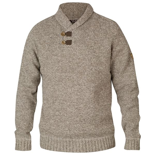 FJALLRAVEN MEN'S LADA SWEATER IN FOG