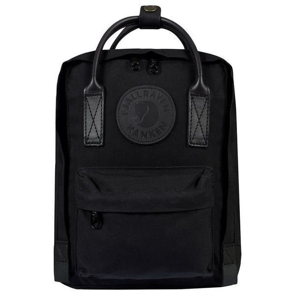 Fjallraven Kanken No. 2 Black Mini Backpack