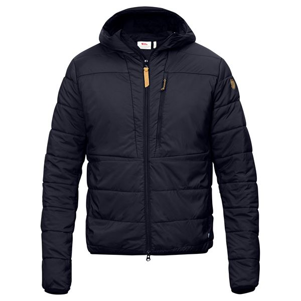 FJALLRAVEN MEN'S KEB PADDED HOODIE IN NIGHT SKY