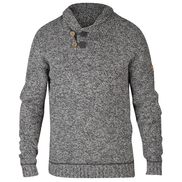 FJALLRAVEN MEN'S LADA SWEATER IN GREY