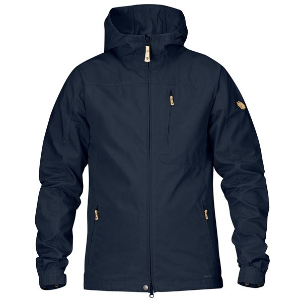 FJALLRAVEN MEN'S STEN JACKET IN DARK NAVY