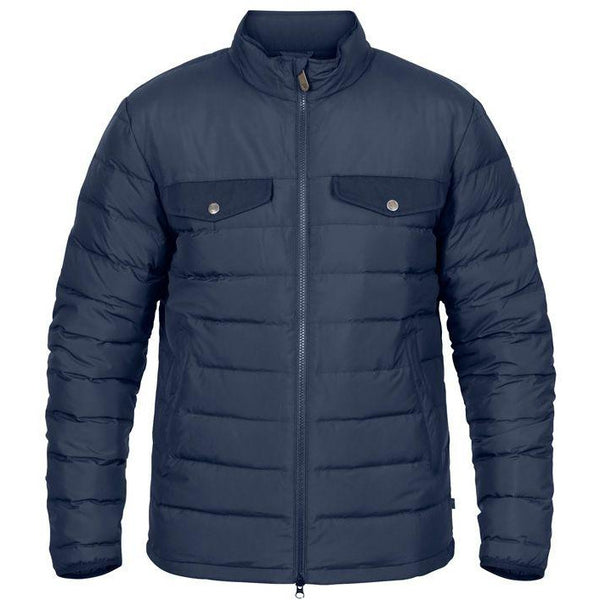 FJALLRAVEN MEN'S GREENLAND DOWN LINER JACKET IN NIGHT SKY