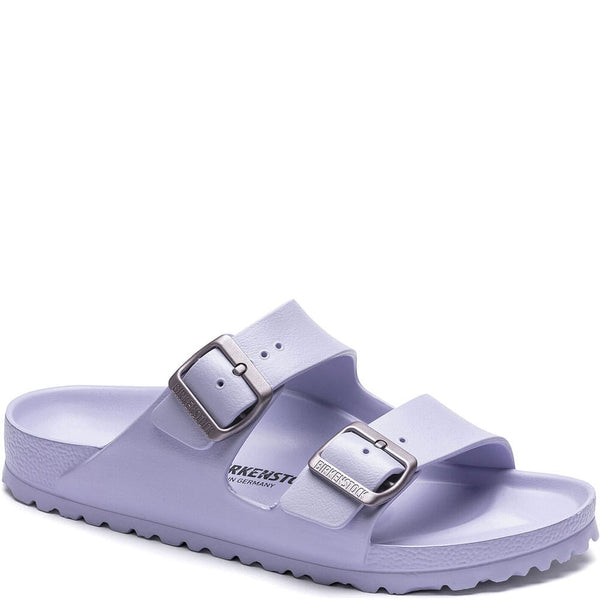 Birkenstock Arizona Eva Essentials Sandal in Purple Fog