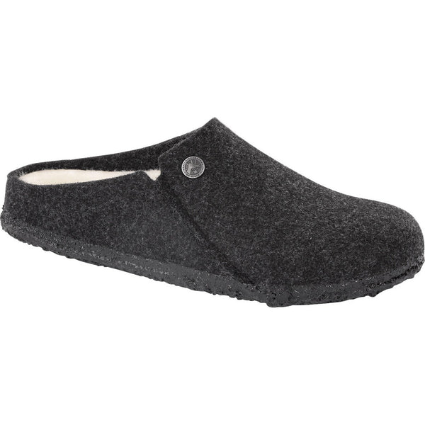 Birkenstock Men's Zermatt Wool Felt Slipper in Anthracite