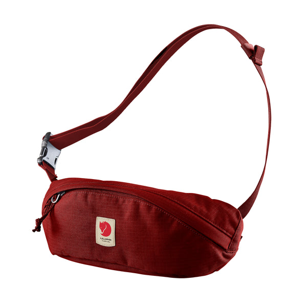 FJALLRAVEN ULVO HIP PACK MEDIUM IN DARK LAVA