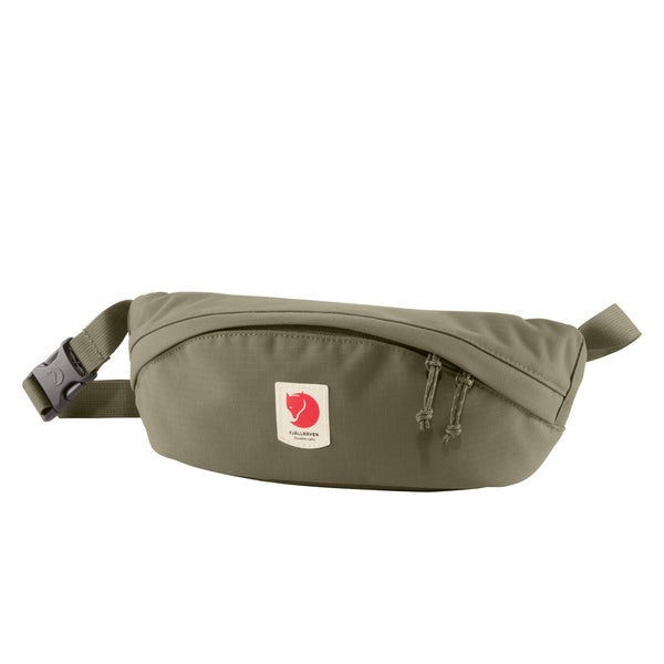 FJALLRAVEN ULVO HIP PACK MEDIUM IN LAUREL GREEN