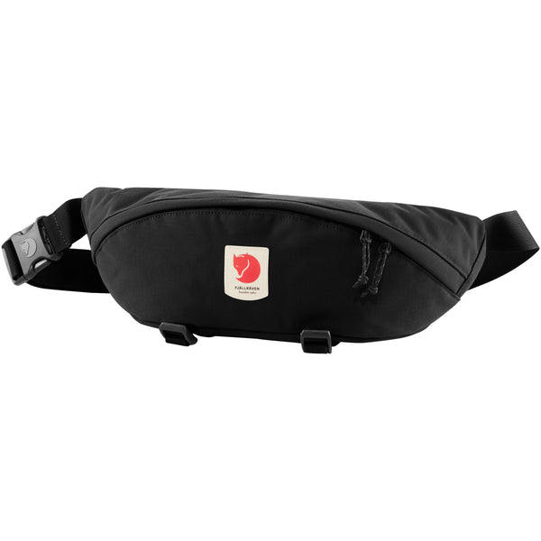 FJALLRAVEN ULVO HIP PACK LARGE IN BLACK