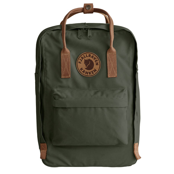 "FJALLRAVEN KANKEN NO. 2 LAPTOP 15"" IN DEEP FOREST"