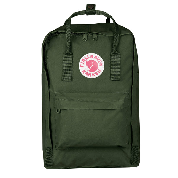 "FJALLRAVEN KANKEN LAPTOP 15"" IN FOREST GREEN"
