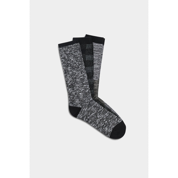 UGG Men's Bennett Crew Sock Gift Set in Black