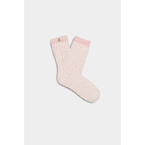 UGG WOMEN'S COZY CHENILLE SOCK IN SEASHELL PINK