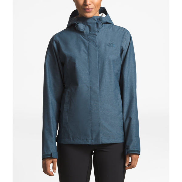 THE NORTH FACE WOMEN'S VENTURE 2 JACKET IN BLUE WING TEAL HEATHER