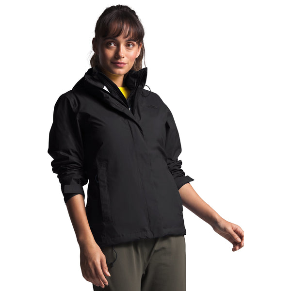 THE NORTH FACE WOMEN'S VENTURE 2 JACKET IN TNF BLACK
