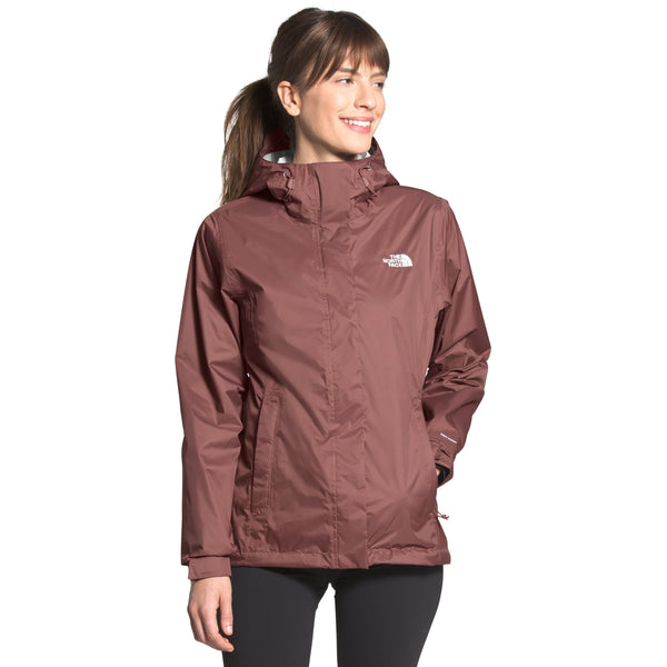 THE NORTH FACE WOMEN'S VENTURE 2 JACKET IN MARRON PURPLE