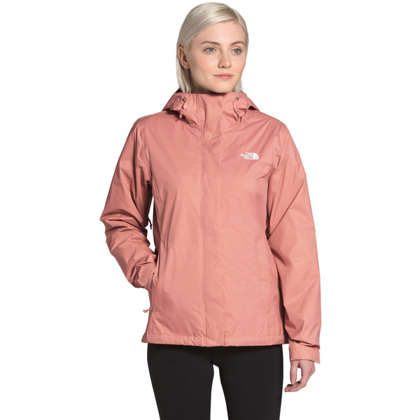 THE NORTH FACE WOMEN'S VENTURE 2 JACKET IN PINK CLAY