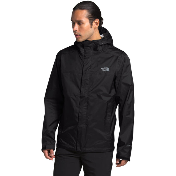 The North Face Men's Venture 2 Jacket in TNF Black/TNF Black/Mid Grey