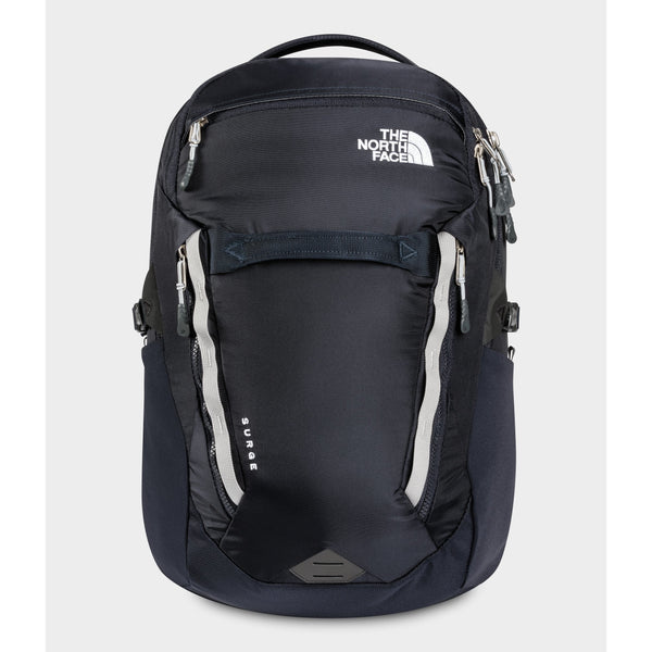 THE NORTH FACE SURGE BACKPACK IN AVIATOR NAVY/MELD GREY