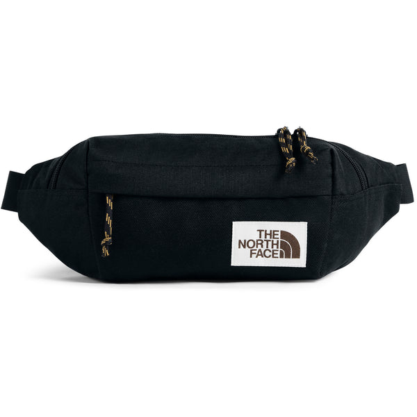 THE NORTH FACE LUMBAR PACK IN TNF BLACK HEATHER