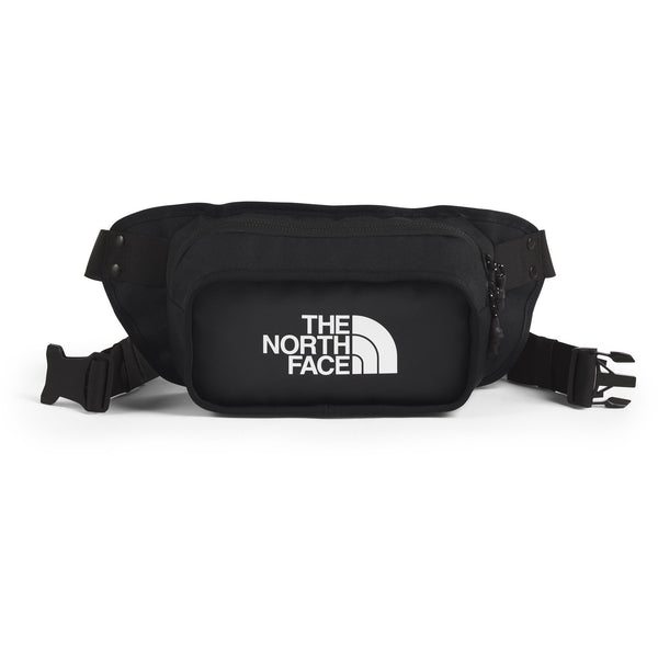 THE NORTH FACE EXPLORE HIP PACK IN TNF BLACK/TNF WHITE/TNF BLACK