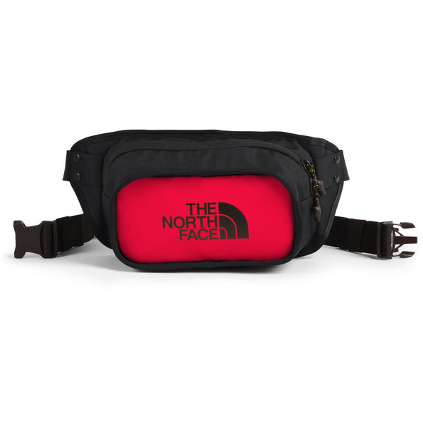 THE NORTH FACE EXPLORE HIP PACK IN TNF RED/TNF BLACK