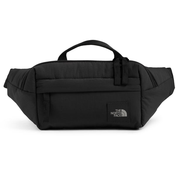 THE NORTH FACE CITY VOYAGER LUMBAR PACK IN TNF BLACK