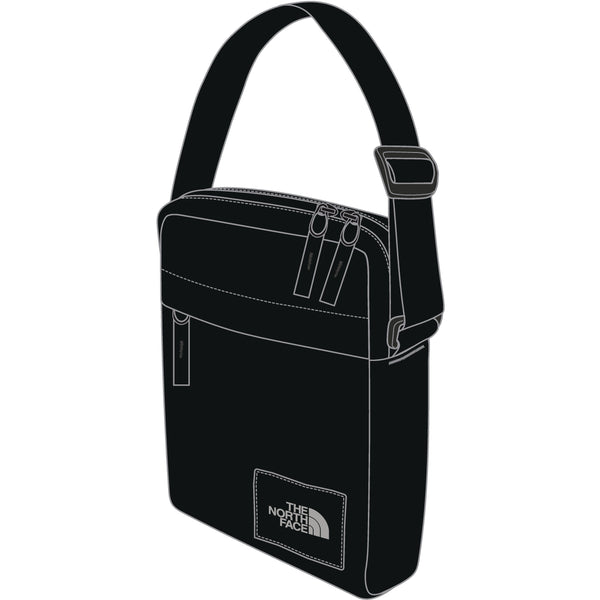 THE NORTH FACE CITY VOYAGER XBODY BAG IN TNF BLACK