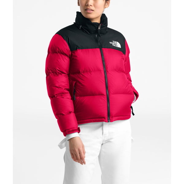 THE NORTH FACE WOMEN'S 1996 RETRO NUPTSE JACKET IN TNF RED