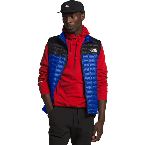 THE NORTH FACE MEN'S THERMOBALL ECO VEST IN TNF BLUE/TNF BLACK