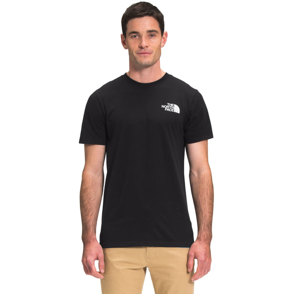 THE NORTH FACE MEN'S SHORT SLEEVE BOX NSE TEE IN TNF BLACK