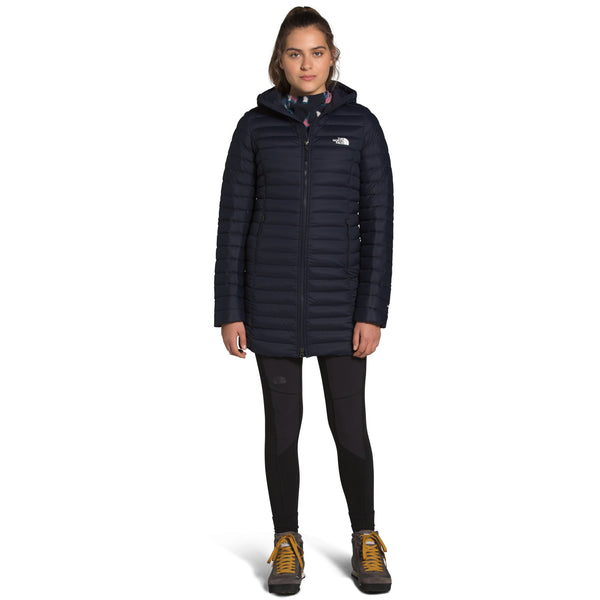 THE NORTH FACE WOMEN'S STRETCH DOWN PARKA IN AVIATOR NAVY