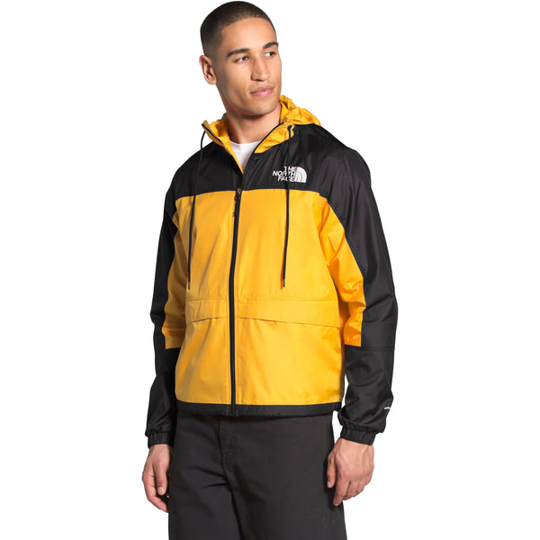 THE NORTH FACE MEN'S HMLYN WIND SHELL JACKET IN SUMMIT GOLD