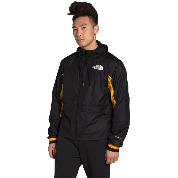 THE NORTH FACE MEN'S HMLYN WIND SHELL JACKET IN TNF BLACK