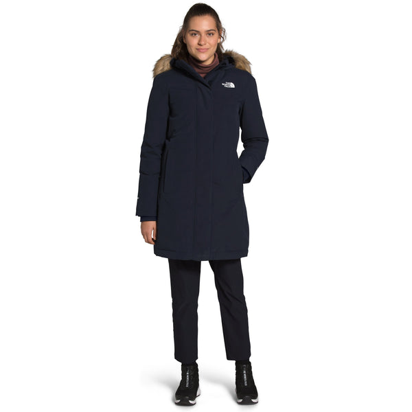 THE NORTH FACE WOMEN'S ARCTIC PARKA IN AVIATOR NAVY