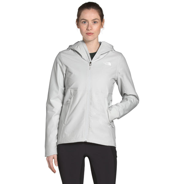 THE NORTH FACE WOMEN'S SHELBE RASCHEL HOODIE IN TIN GREY