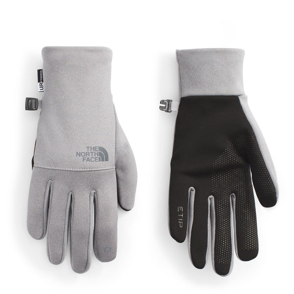 The North Face Etip Recycled Glove in TNF Medium Grey Heather