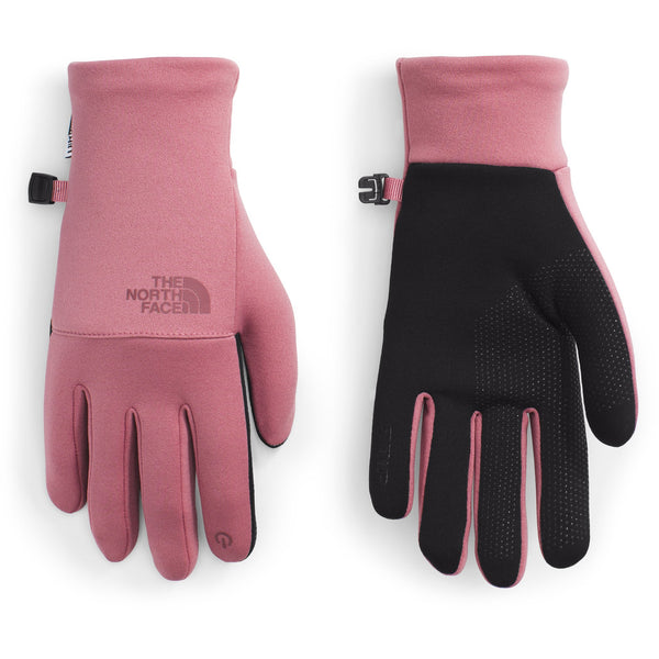 THE NORTH FACE WOMEN'S ETIP RECYCLED GLOVE IN MESA ROSE
