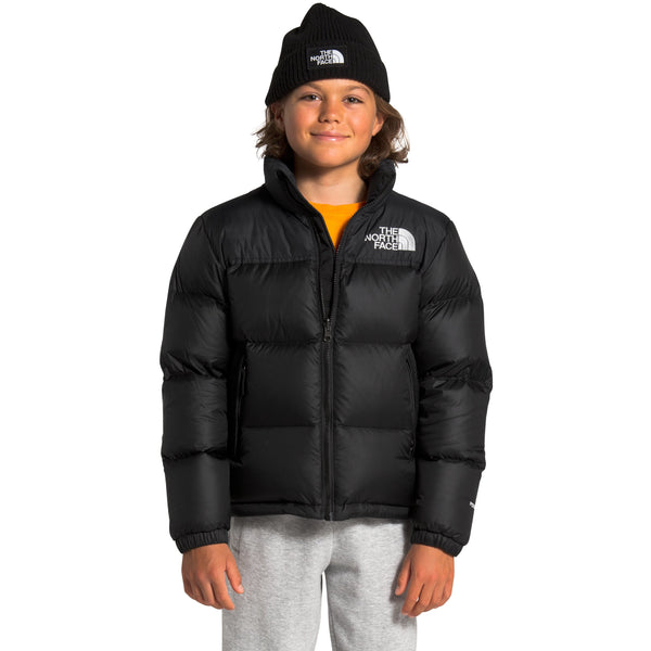 THE NORTH FACE YOUTH 1996 RETRO NUTPSE JACKET IN TNF BLACK