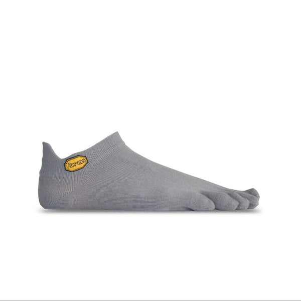Vibram 5Toe Athletic No Show Socks in Grey