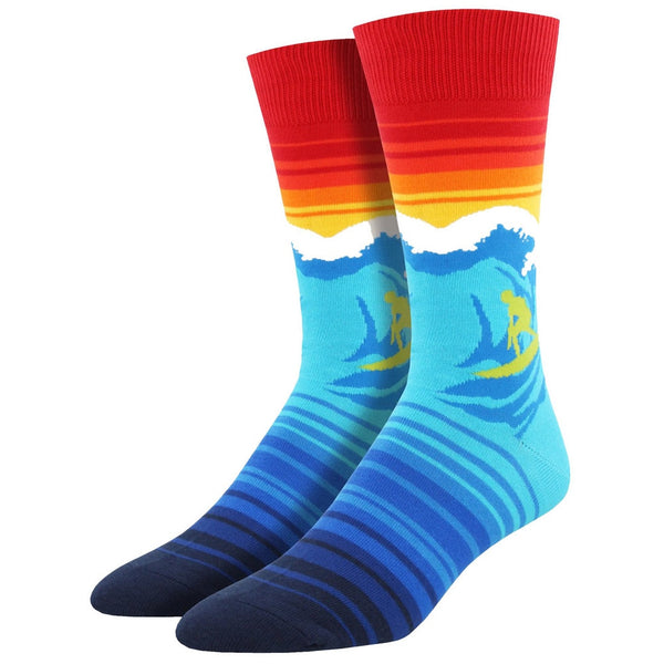 "SOCK SMITH BALL NO BS - ""CATCH A WAVE"" SOCKS"