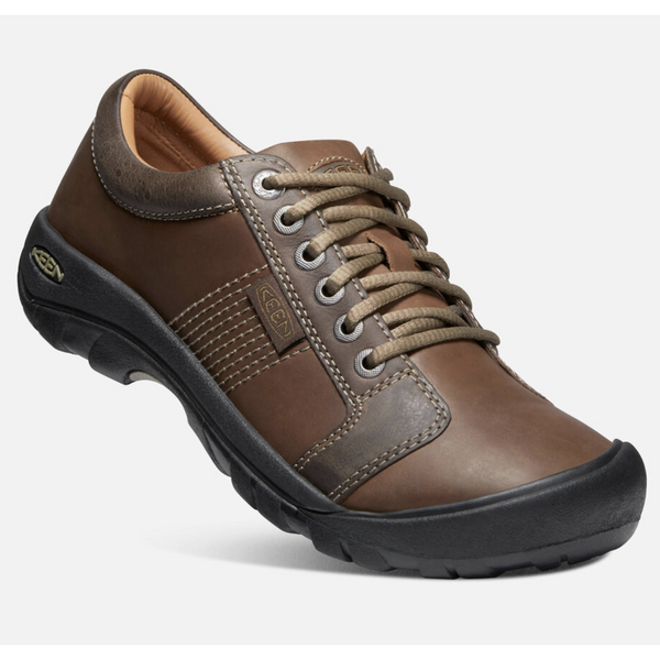 KEEN MEN'S AUSTIN IN CHOCOLATE BROWN