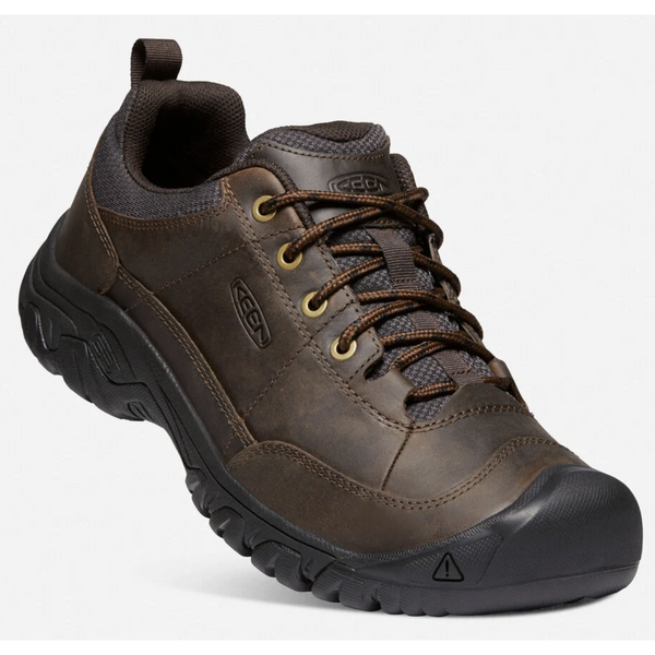 KEEN MEN'S TARGHEE 3 OXFORD IN DARK EARTH MULCH