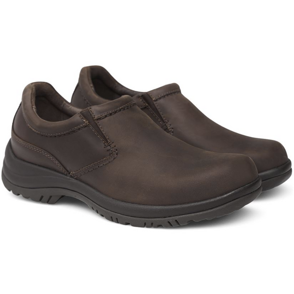Dansko Men's Wynn in Brown Distressed